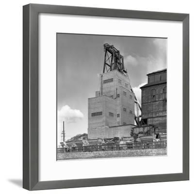 The Heapstead at Kadeby Colliery, Near Doncaster, South Yorkshire, 1956-Michael Walters-Framed Photographic Print