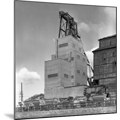 The Heapstead at Kadeby Colliery, Near Doncaster, South Yorkshire, 1956-Michael Walters-Mounted Photographic Print