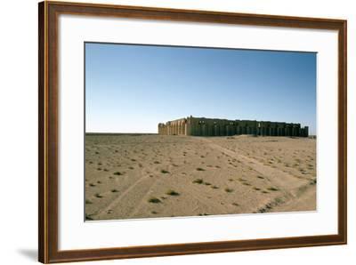 Fortress of Al Ukhaidir, Iraq, 1977-Vivienne Sharp-Framed Photographic Print