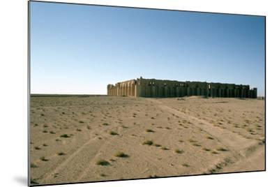 Fortress of Al Ukhaidir, Iraq, 1977-Vivienne Sharp-Mounted Photographic Print