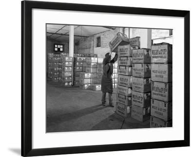 Whisky Blending at Wiley and Co, Sheffield, South Yorkshire, 1960-Michael Walters-Framed Photographic Print
