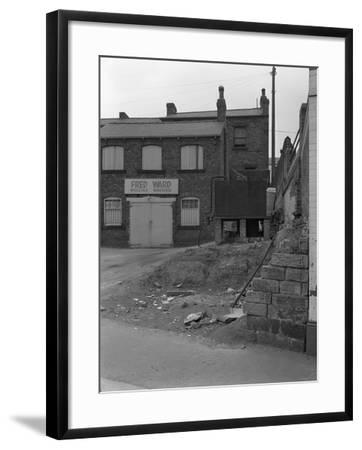 Urban Regeneration in Mexborough, South Yorkshire, 1966-Michael Walters-Framed Photographic Print