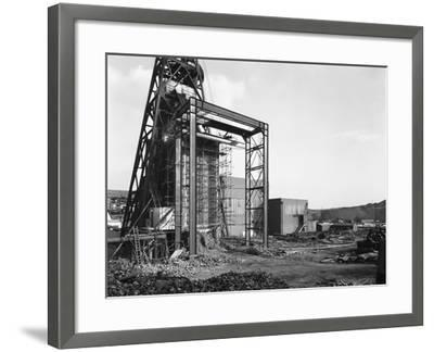 The Main Fan Drift at Rossington Colliery, Doncaster, South Yorkshire, 1966-Michael Walters-Framed Photographic Print