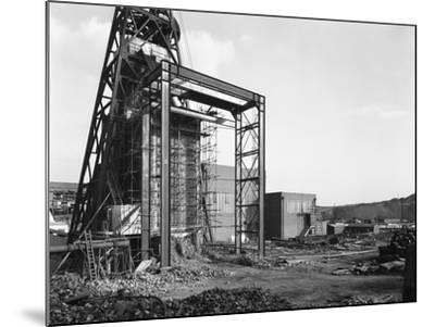 The Main Fan Drift at Rossington Colliery, Doncaster, South Yorkshire, 1966-Michael Walters-Mounted Photographic Print