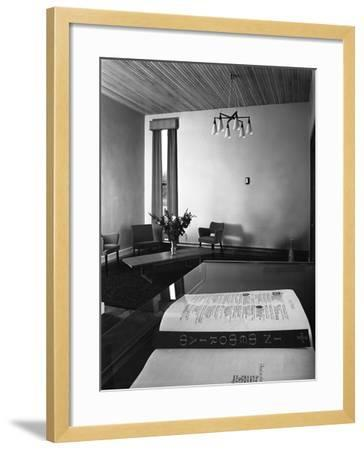 Chapel of Remembrance, Barnsley Co-Op, South Yorkshire, 1962-Michael Walters-Framed Photographic Print