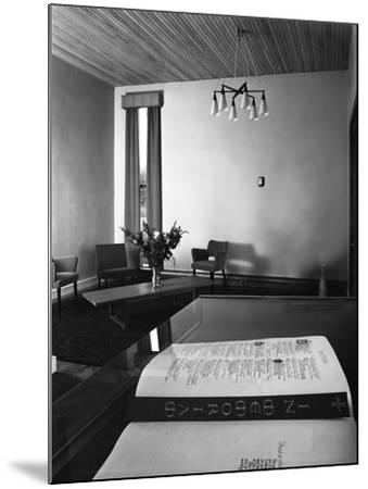 Chapel of Remembrance, Barnsley Co-Op, South Yorkshire, 1962-Michael Walters-Mounted Photographic Print