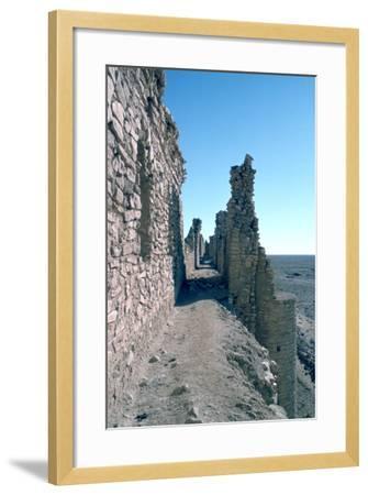 Sentry Walk, Fortress of Al Ukhaidir, Iraq, 1977-Vivienne Sharp-Framed Photographic Print