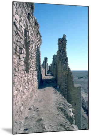 Sentry Walk, Fortress of Al Ukhaidir, Iraq, 1977-Vivienne Sharp-Mounted Photographic Print
