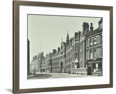 London Fire Brigade Headquarters, Southwark, London, 1911--Framed Photographic Print