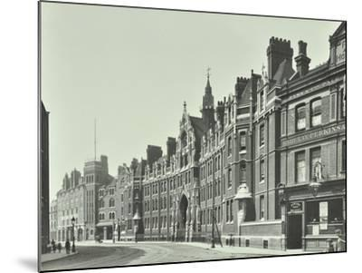 London Fire Brigade Headquarters, Southwark, London, 1911--Mounted Photographic Print