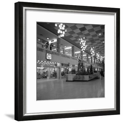 The New Arndale Shopping Centre in Doncaster, 1969-Michael Walters-Framed Photographic Print
