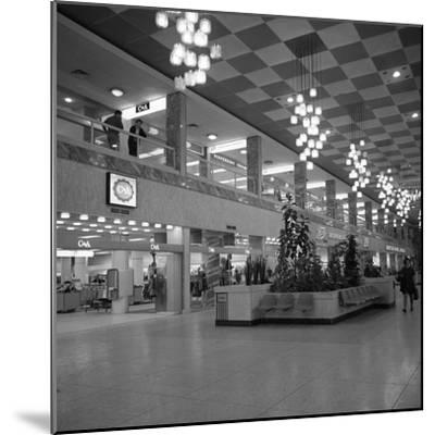 The New Arndale Shopping Centre in Doncaster, 1969-Michael Walters-Mounted Photographic Print