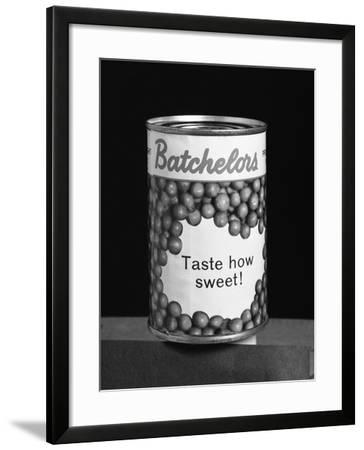 Batchelors Peas Tin, 1963-Michael Walters-Framed Photographic Print