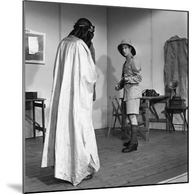 A Scene from the Terence Rattigan Play, Ross, Worksop College, Nottinghamshire, 1963-Michael Walters-Mounted Photographic Print