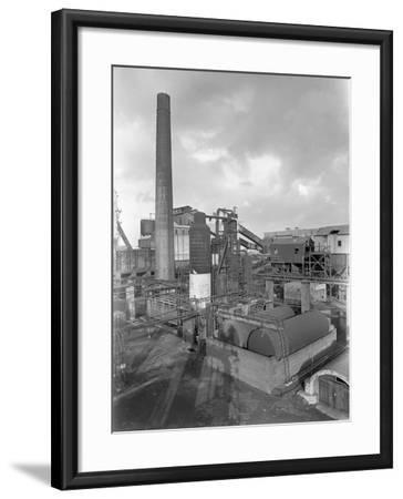 Wath Main Colliery, Wath Upon Dearne, Near Rotherham, South Yorkshire, 1956-Michael Walters-Framed Photographic Print
