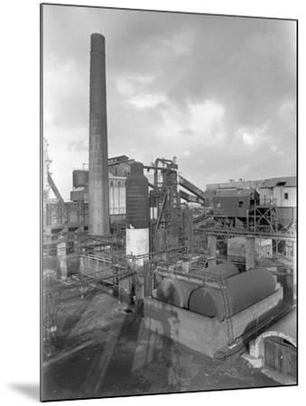 Wath Main Colliery, Wath Upon Dearne, Near Rotherham, South Yorkshire, 1956-Michael Walters-Mounted Photographic Print