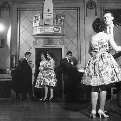 Lyons Maid Drinka Winta Pinta Promotional Dance, Mexborough, South Yorkshire, 1960-Michael Walters-Framed Photographic Print