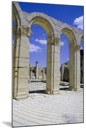 South-East Baths, Maktar, Tunisia-Vivienne Sharp-Mounted Photographic Print