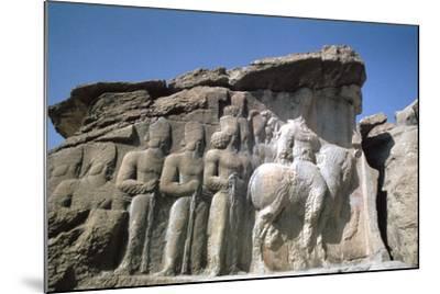 Relief of Shapur I, Naqsh-I-Rustam, Iran-Vivienne Sharp-Mounted Photographic Print