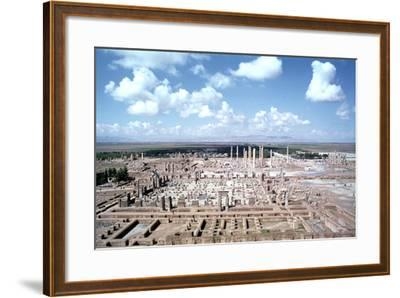 Panorama of the Ruins of Persepolis, Iran-Vivienne Sharp-Framed Photographic Print