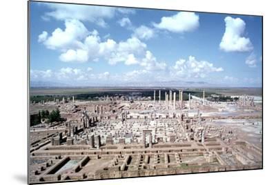 Panorama of the Ruins of Persepolis, Iran-Vivienne Sharp-Mounted Photographic Print