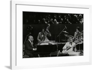 The Count Basie Orchestra in Concert at the Royal Festival Hall, London, 18 July 1980-Denis Williams-Framed Photographic Print