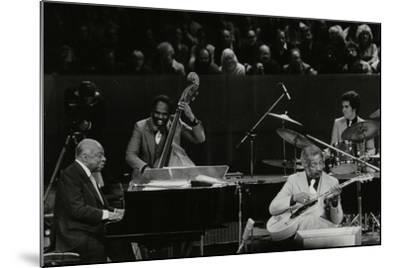 The Count Basie Orchestra in Concert at the Royal Festival Hall, London, 18 July 1980-Denis Williams-Mounted Photographic Print