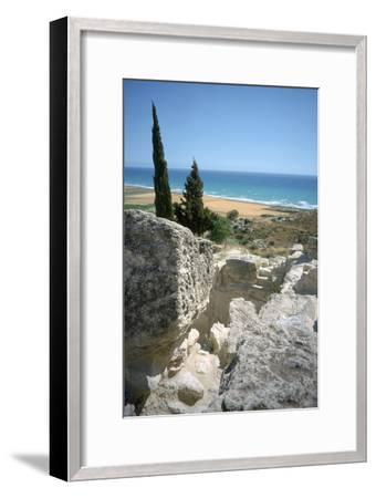 Theatre, Curium (Kourion), Cyprus, 2001-Vivienne Sharp-Framed Photographic Print