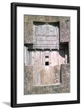 Tomb of Xerxes I, Naqsh-I-Rustam, Iran-Vivienne Sharp-Framed Photographic Print