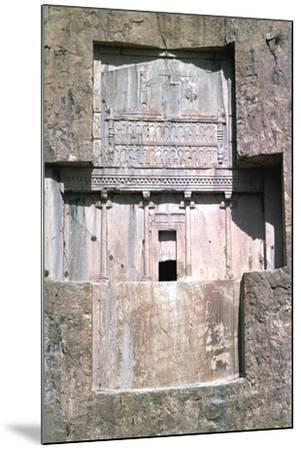Tomb of Xerxes I, Naqsh-I-Rustam, Iran-Vivienne Sharp-Mounted Photographic Print