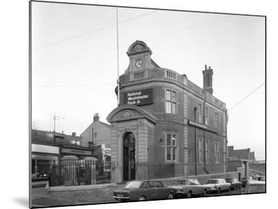 The Natwest Bank, Mexborough, South Yorkshire, 1971-Michael Walters-Mounted Photographic Print