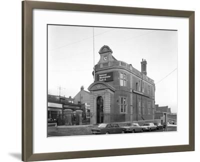 The Natwest Bank, Mexborough, South Yorkshire, 1971-Michael Walters-Framed Photographic Print