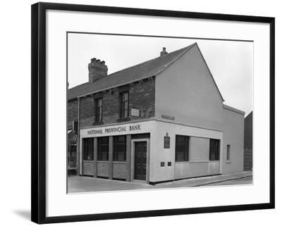 The National Provincial Bank, Goldthorpe, South Yorkshire, 1960-Michael Walters-Framed Photographic Print