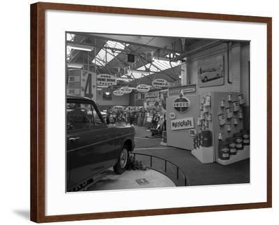 Exhibition at a Ford Dealers in Rotherham, South Yorkshire, 1964-Michael Walters-Framed Photographic Print