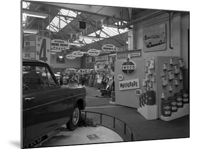 Exhibition at a Ford Dealers in Rotherham, South Yorkshire, 1964-Michael Walters-Mounted Photographic Print