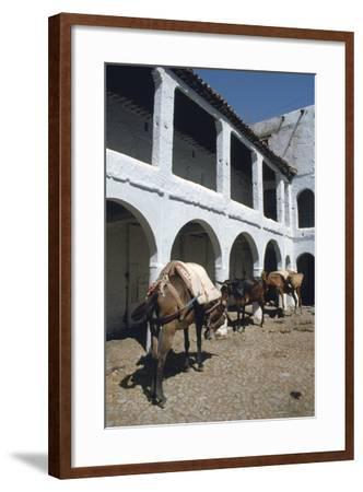 Fondouk, Chefchaouen, Morocco-Vivienne Sharp-Framed Photographic Print