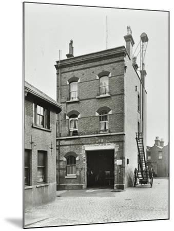 Blackheath Fire Station, Tranquil Vale, Blackheath, London, 1905--Mounted Photographic Print