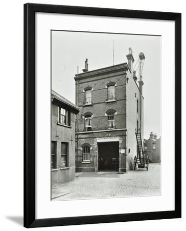 Blackheath Fire Station, Tranquil Vale, Blackheath, London, 1905--Framed Photographic Print