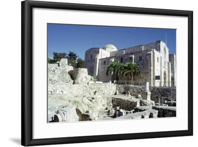 St Annes Church, Jerusalem, Israel-Vivienne Sharp-Framed Photographic Print