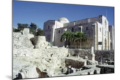 St Annes Church, Jerusalem, Israel-Vivienne Sharp-Mounted Photographic Print