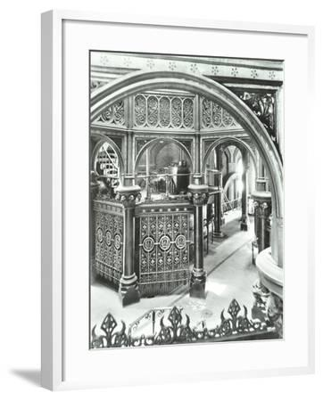 Interior of Crossness Sewage Treatment Works, Erith, London, 1949--Framed Photographic Print