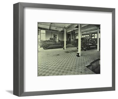Dockhead Fire Station, No 8 Wolseley Street, Bermondsey, London, 1929--Framed Photographic Print