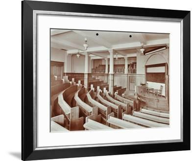 Lecture Theatre, London Day Training College, Camden, 1907--Framed Photographic Print