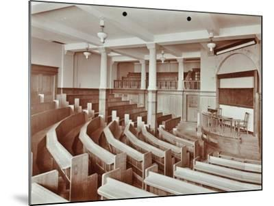 Lecture Theatre, London Day Training College, Camden, 1907--Mounted Photographic Print
