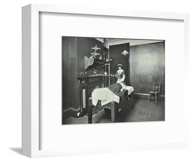 X-Ray Room, Fulham School Treatment Centre, London, 1914--Framed Photographic Print