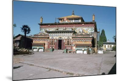 Ghum Monastery, Near Darjeeling, West Bengal, India-Vivienne Sharp-Mounted Photographic Print