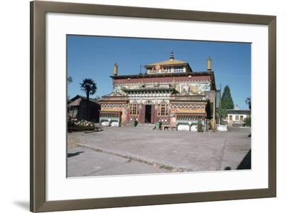 Ghum Monastery, Near Darjeeling, West Bengal, India-Vivienne Sharp-Framed Photographic Print