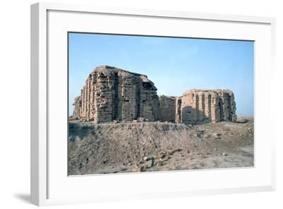 Shrine of Justice, Ur, Iraq, 1977-Vivienne Sharp-Framed Photographic Print