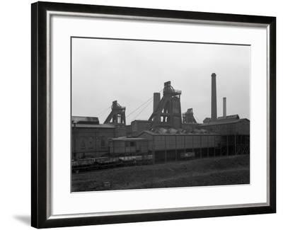 A View of Horden Colliery, County Durham, 1964-Michael Walters-Framed Photographic Print