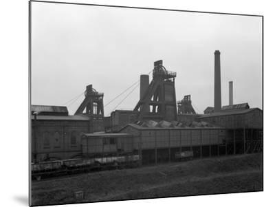A View of Horden Colliery, County Durham, 1964-Michael Walters-Mounted Photographic Print
